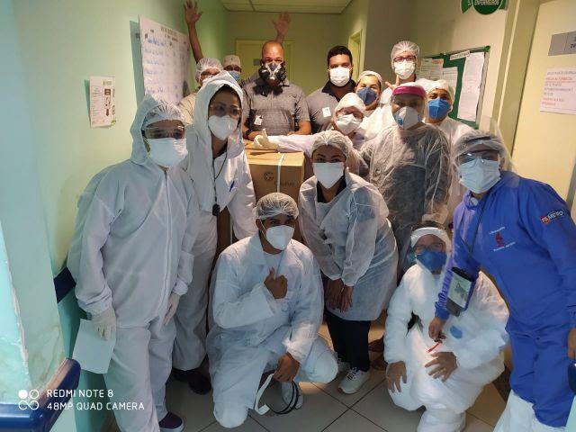 Aliança participa de ação social coordenada por Whindersson Nunes e entrega 60 respiradores para pequenos hospitais em Manaus