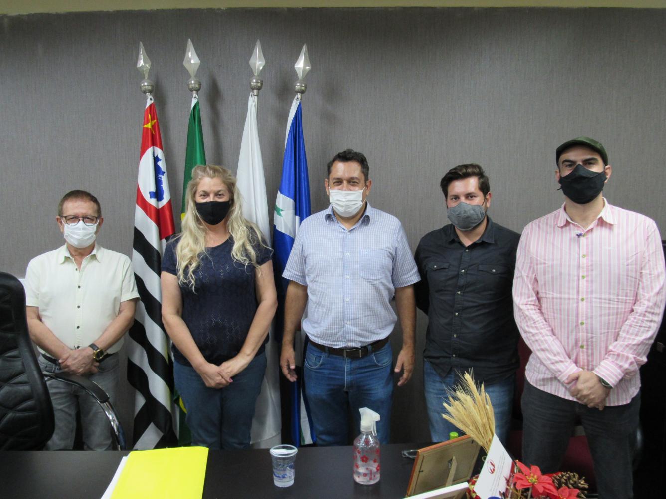 Secretário da Cultura de Rio Claro visita Câmara de Limeira