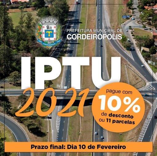 Carnês de IPTU já estão sendo entregues para os contribuintes