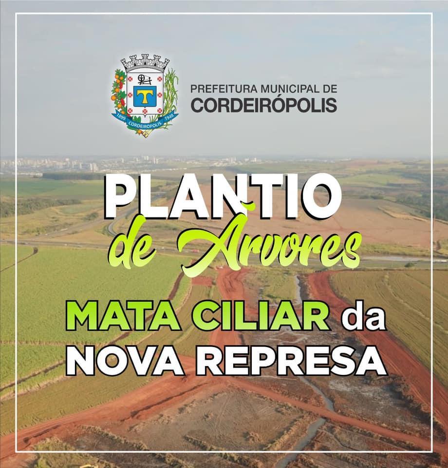 Represa Santa Marina receberá plantio de árvores neste sábado