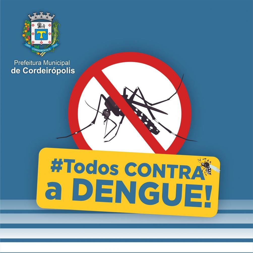 Secretaria de Saúde de Cordeirópolis orienta moradores no combate à dengue