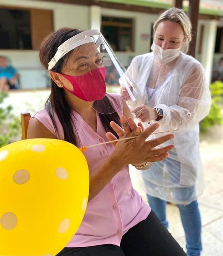 Segue a vacinação aos idosos acima de 85 anos em Cordeirópolis