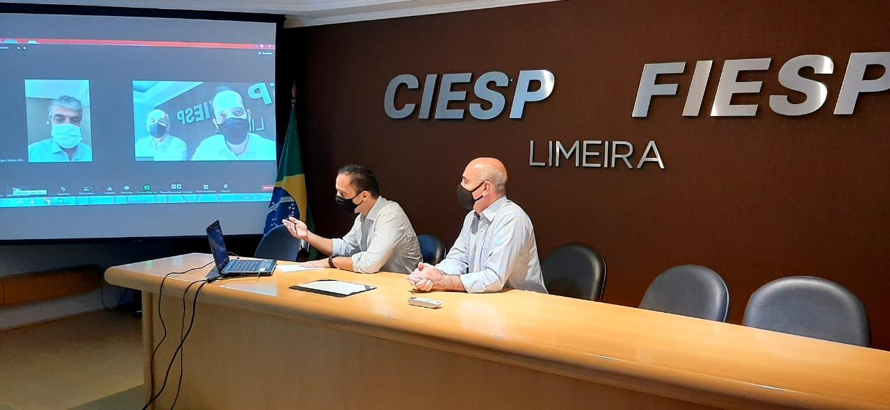 Deputado Murilo Félix ouve pedidos do Ciesp por redução de impostos