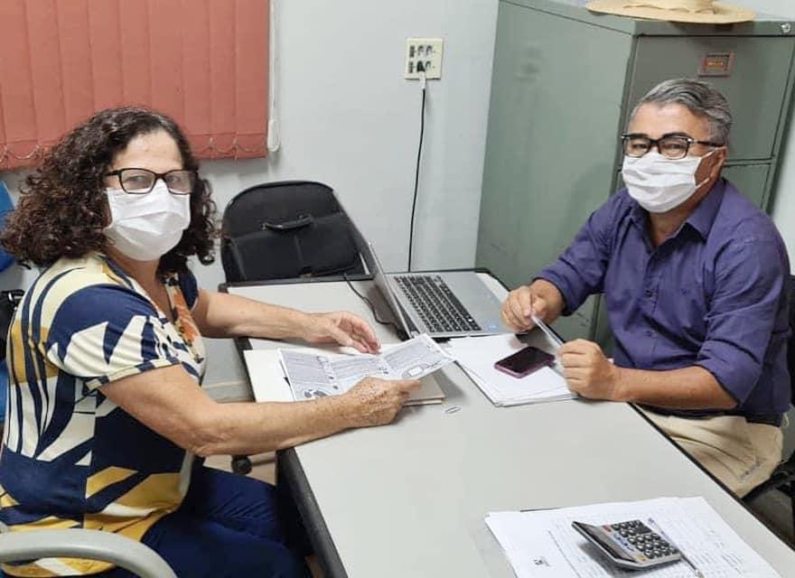Fátima Celin se reúne com Sílvio Silva para conduzir demandas sobre o SAAE