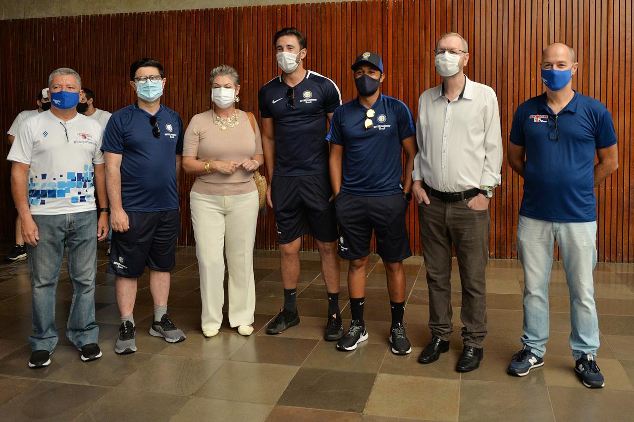 Limeira celebra parceria do Nosso Clube com escolinha da Inter de Milão