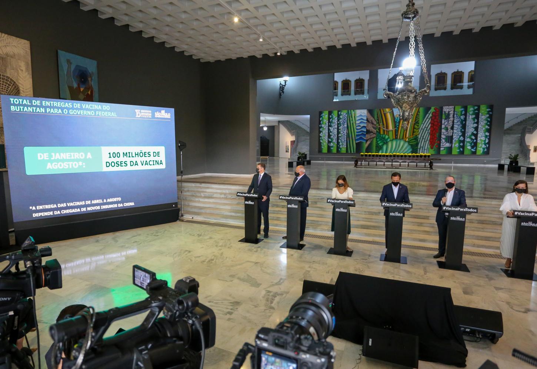 Governo de SP distribui mais 900 mil doses da vacina do Butantan para o Brasil