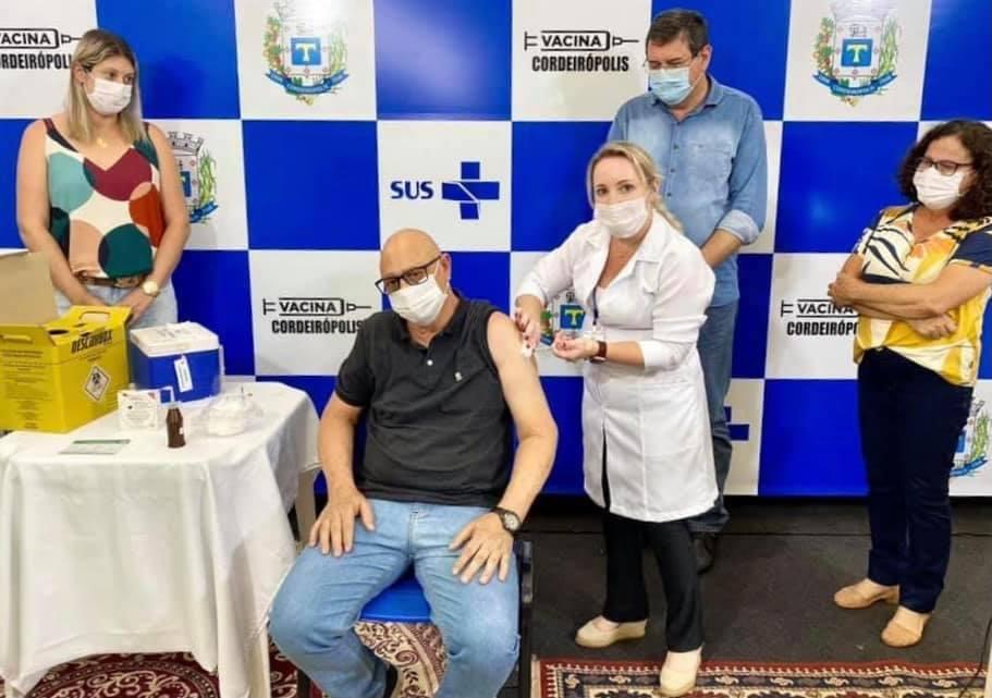 Em Cordeirópolis, 854 pessoas receberam a primeira dose contra Covid-19