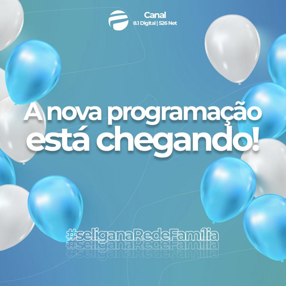 Rede Família estreia nova programação em 1º de março