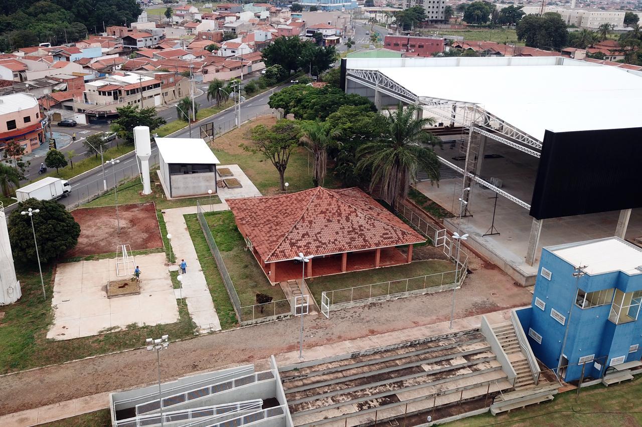 Obras do Complexo Esportivo do Jardim Ipanema em Limeira estão em andamento