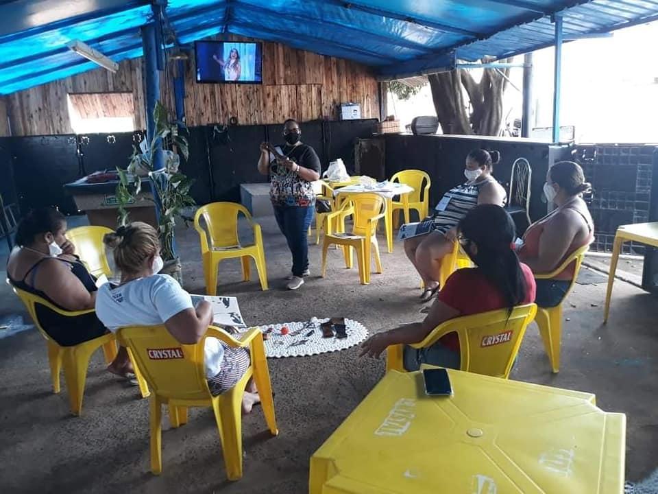 CRAS Jardim Eldorado em Cordeirópolis realiza atividades em comemoração ao Mês da mulher