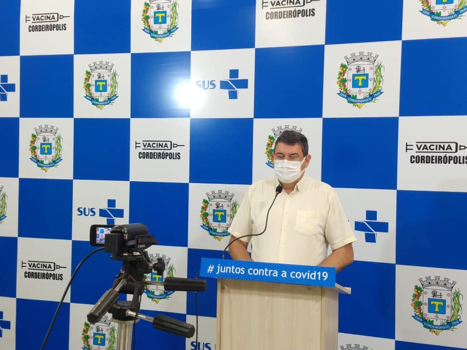 Prefeitura de Cordeirópolis alerta sobre restrições durante a fase vermelha no município