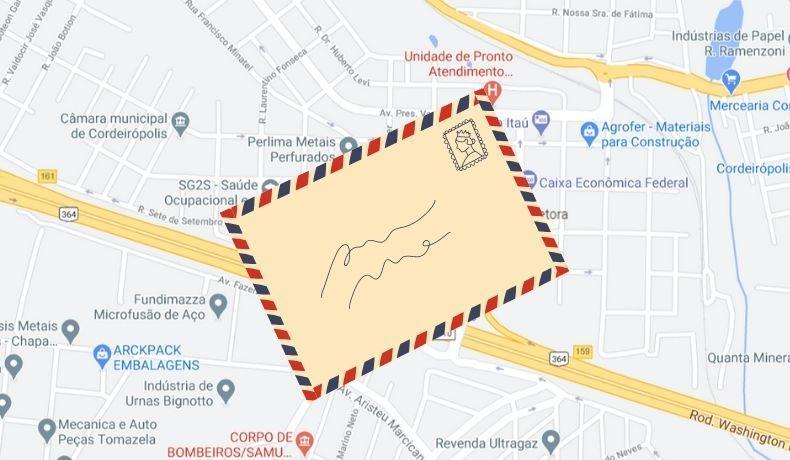 Correios implantará CEP por logradouro em Cordeirópolis