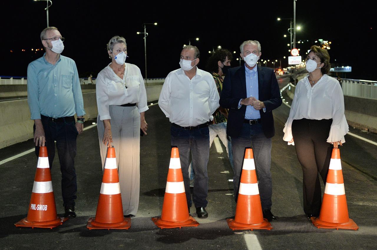 Após um ano, viaduto da Barroca Funda em Limeira é liberado para o trânsito