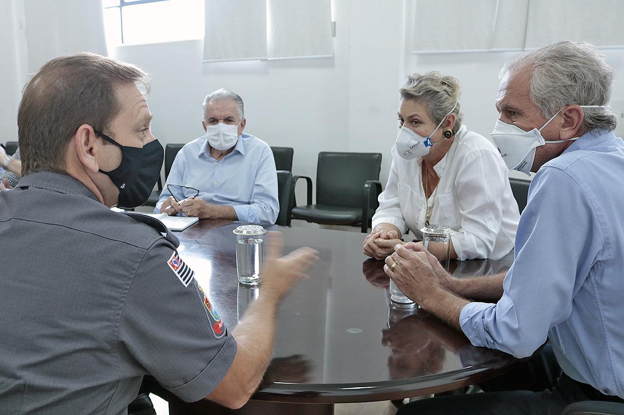 Forças de segurança da região serão vacinadas no Batalhão da Polícia Militar em Limeira