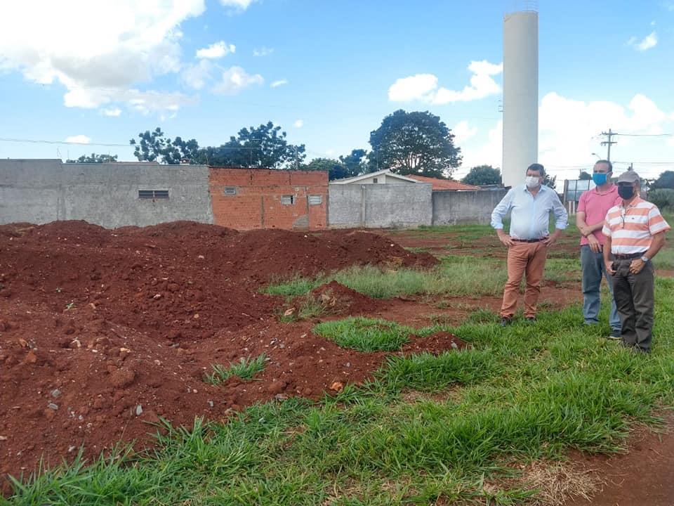 Início das obras da nova creche em Cordeirópolis