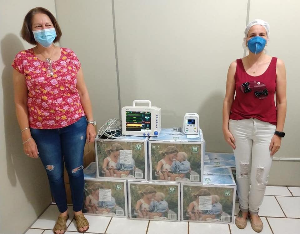 Prefeitura de Cordeirópolis entrega monitores cardíacos ao Hospital Humanitária
