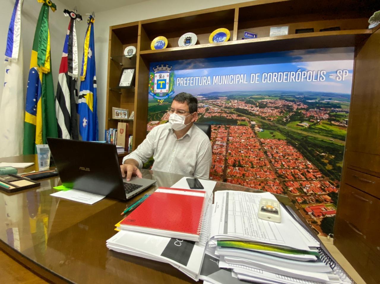 Prefeito de Cordeirópolis é eleito representante dos Comitês das Bacias PCJ