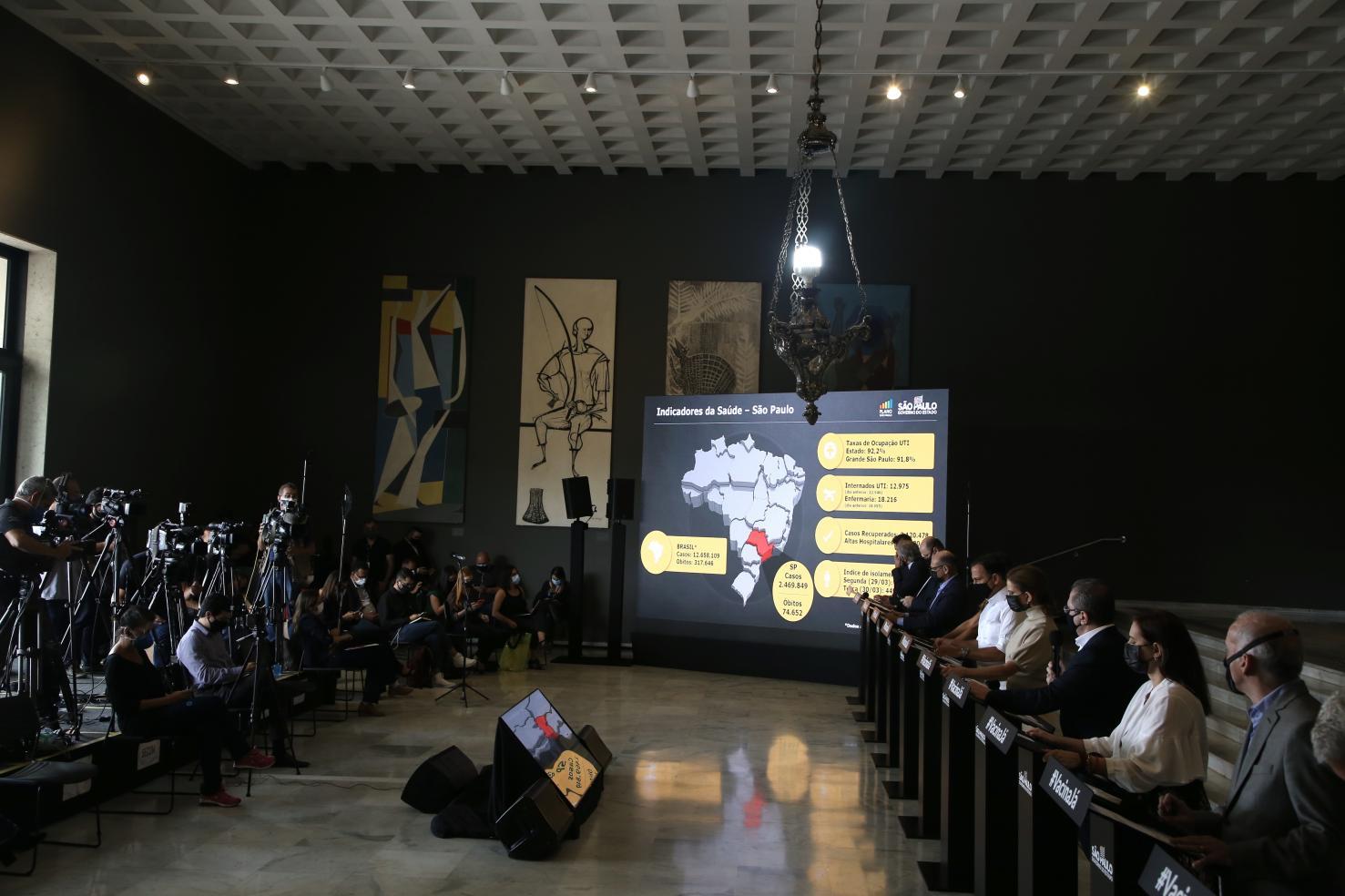 Governo de SP abre 163 novos leitos para atendimento de casos graves de COVID-19