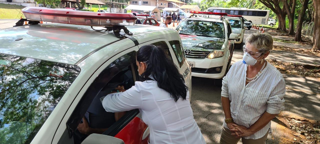 Forças de segurança de Limeira e região começam a ser vacinadas