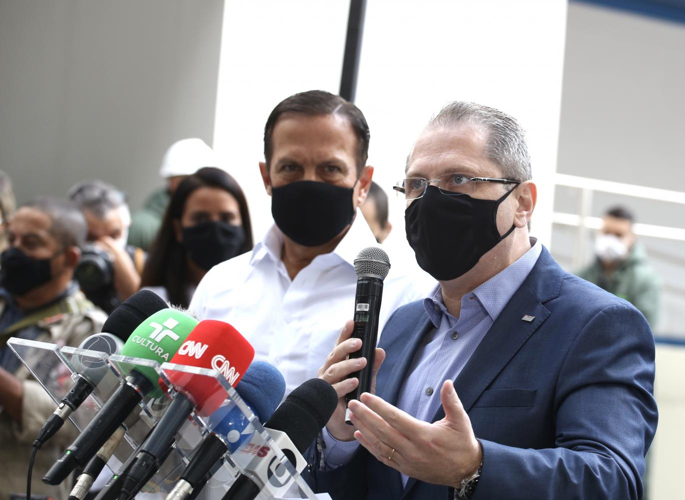 SP supera 80% de doses a ser entregues ao Brasil até o final de abril