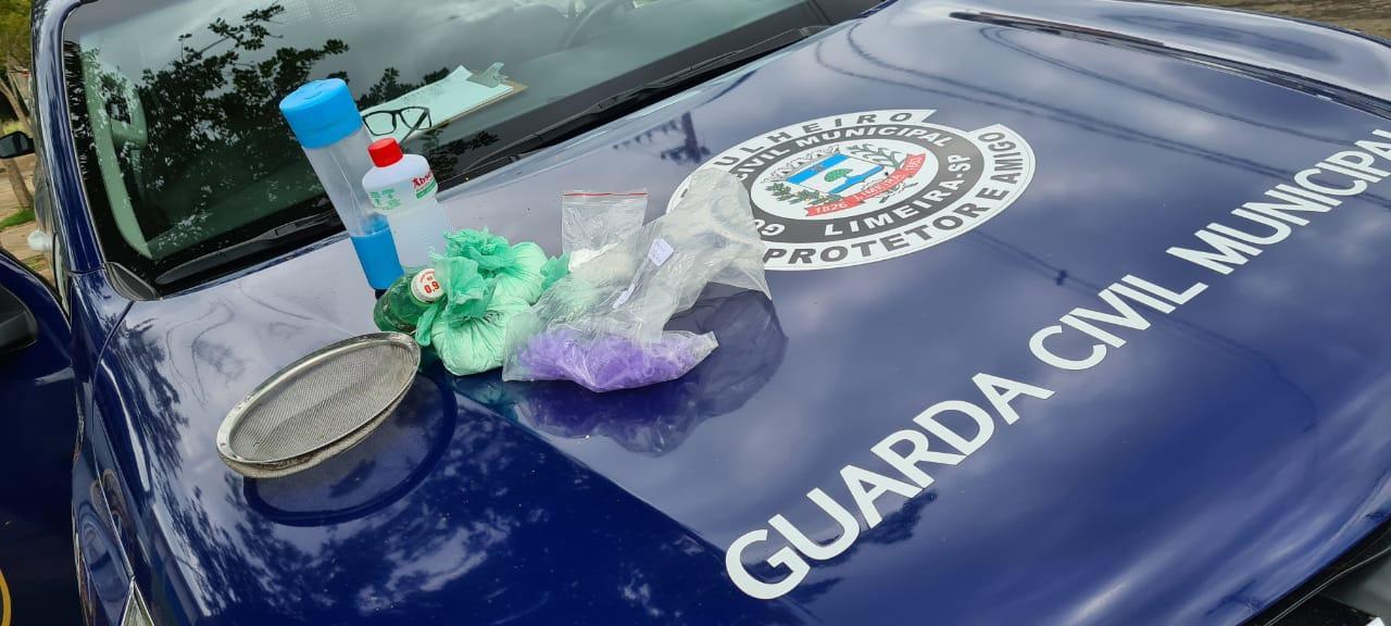 Após denúncias de tráfico de drogas, GCM de Limeira realiza ação em área verde