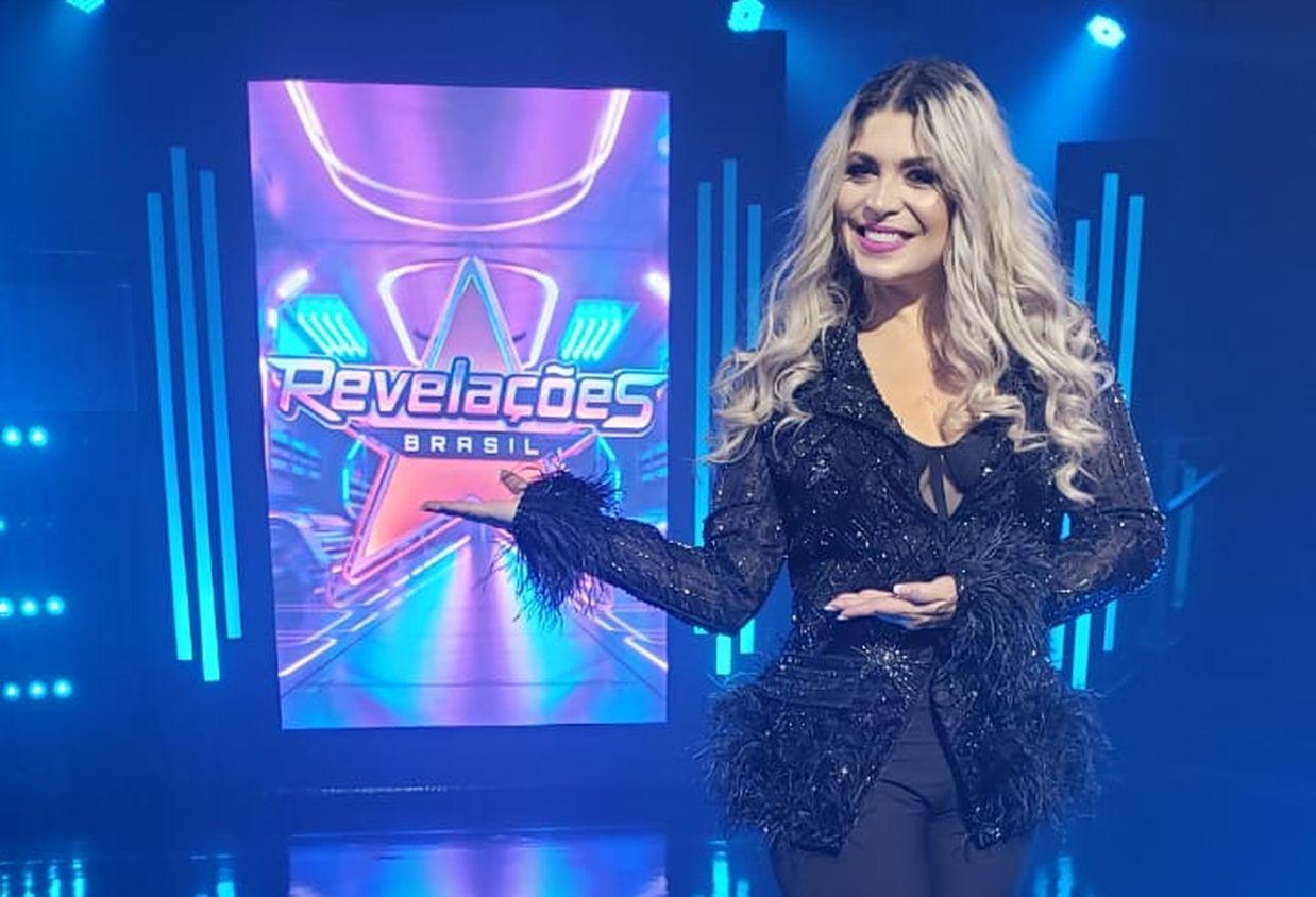 Adryana Ribeiro comenta como é ser jurada do reality apresentado por Amanda Françozo