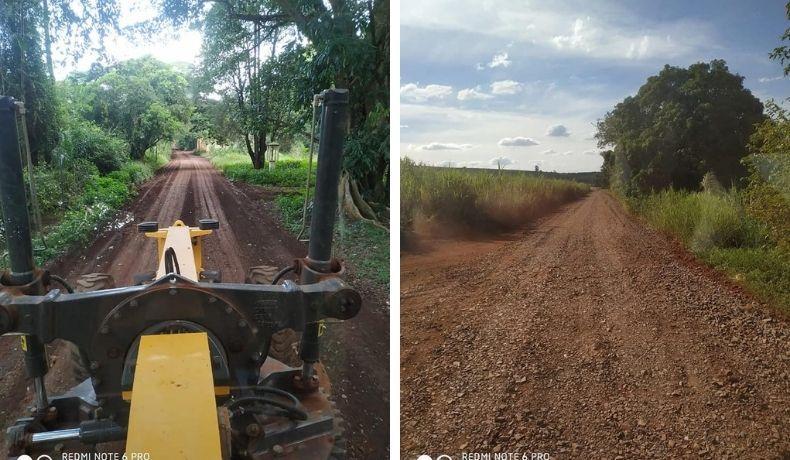 Estradas rurais de Cordeirópolis recebem manutenção