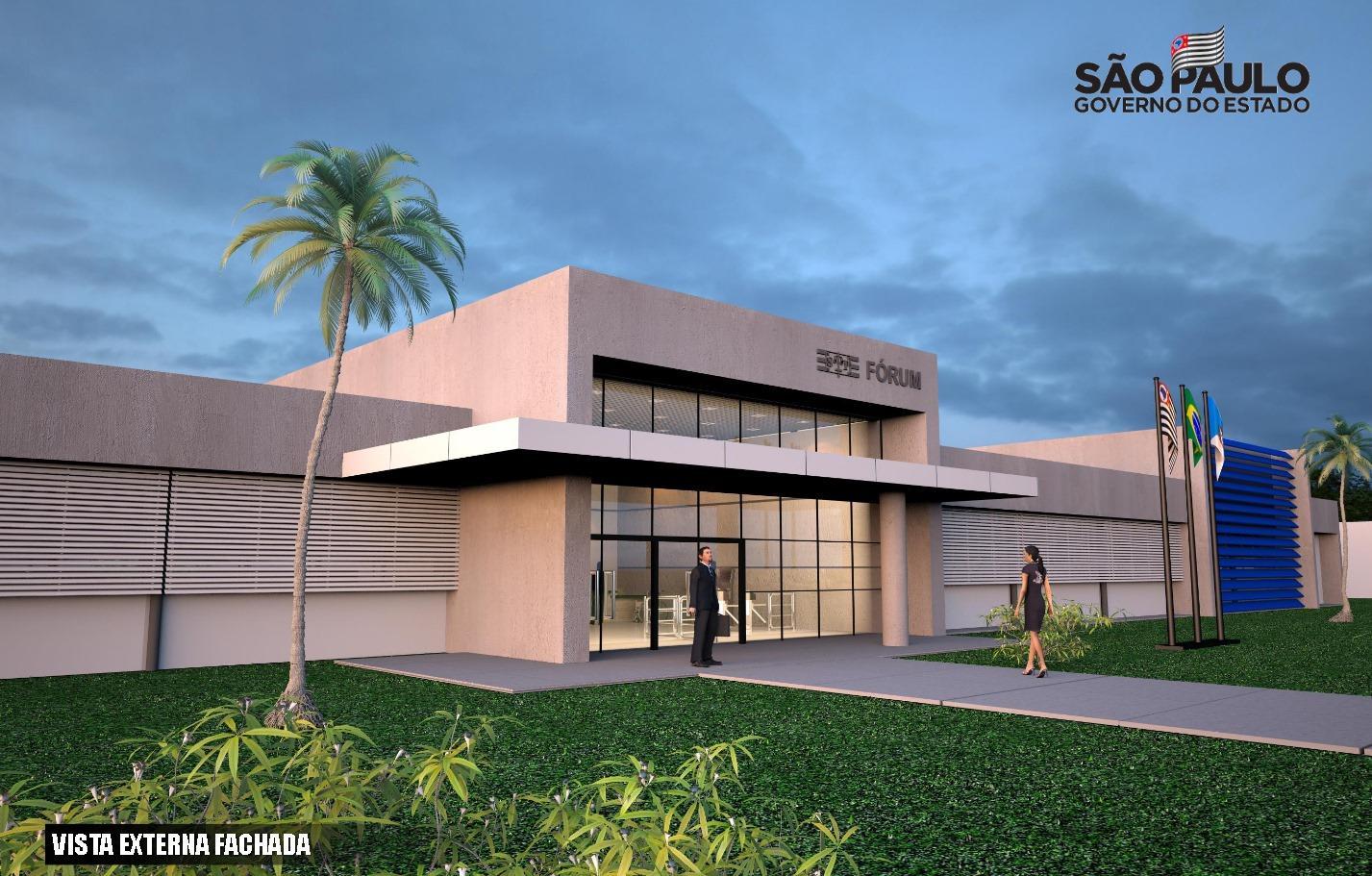 Construção do novo prédio do Fórum da Comarca avança mais um passo