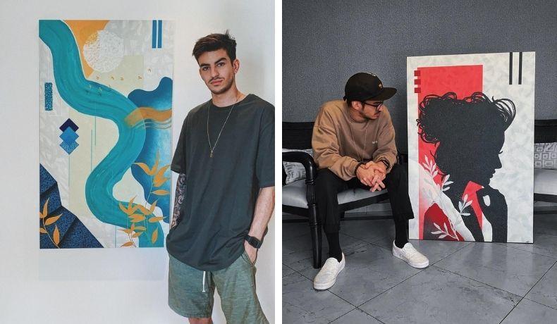Do graffiti de rua aos salões nobres: Raphael Masi é a grande revelação das artes visuais