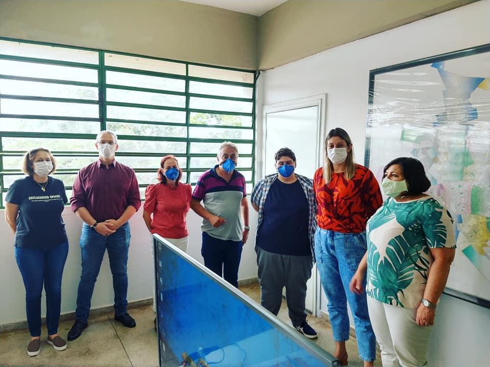 Equipe da Saúde visita Araraquara para conhecer ações de combate à covid