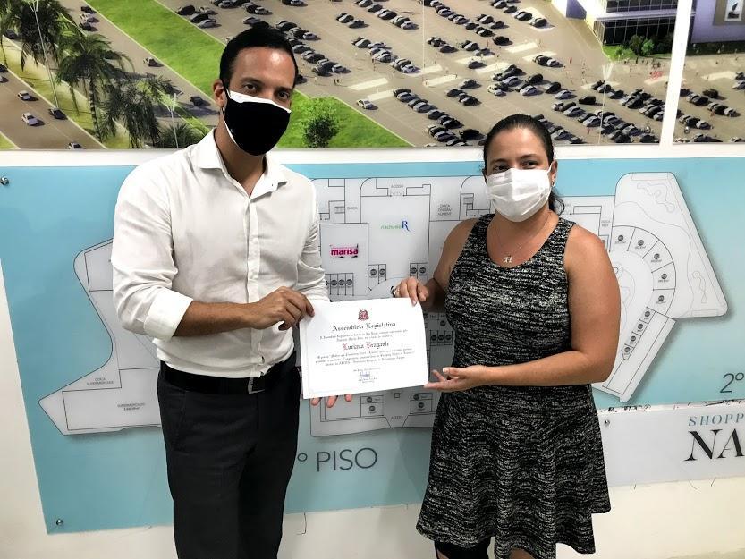 Administradora do Shopping Nações recebe prêmio da Alesp