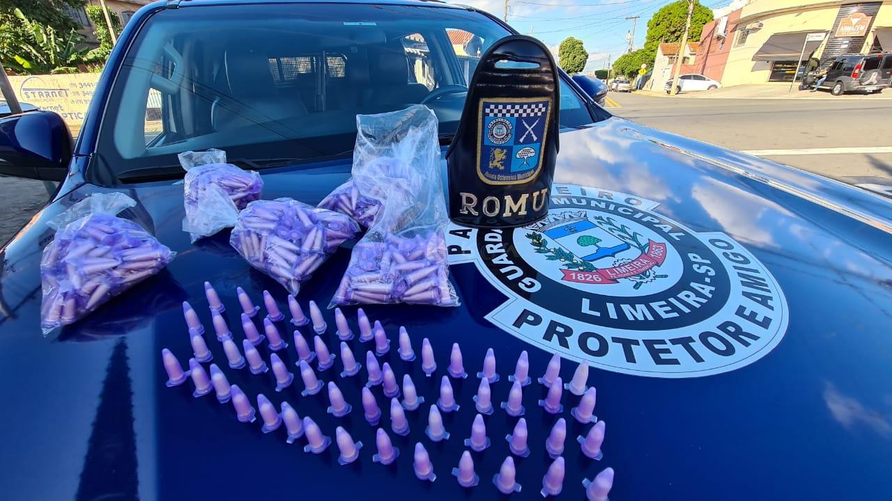 GCM de Limeira faz apreensão de cocaína após denúncia anônima