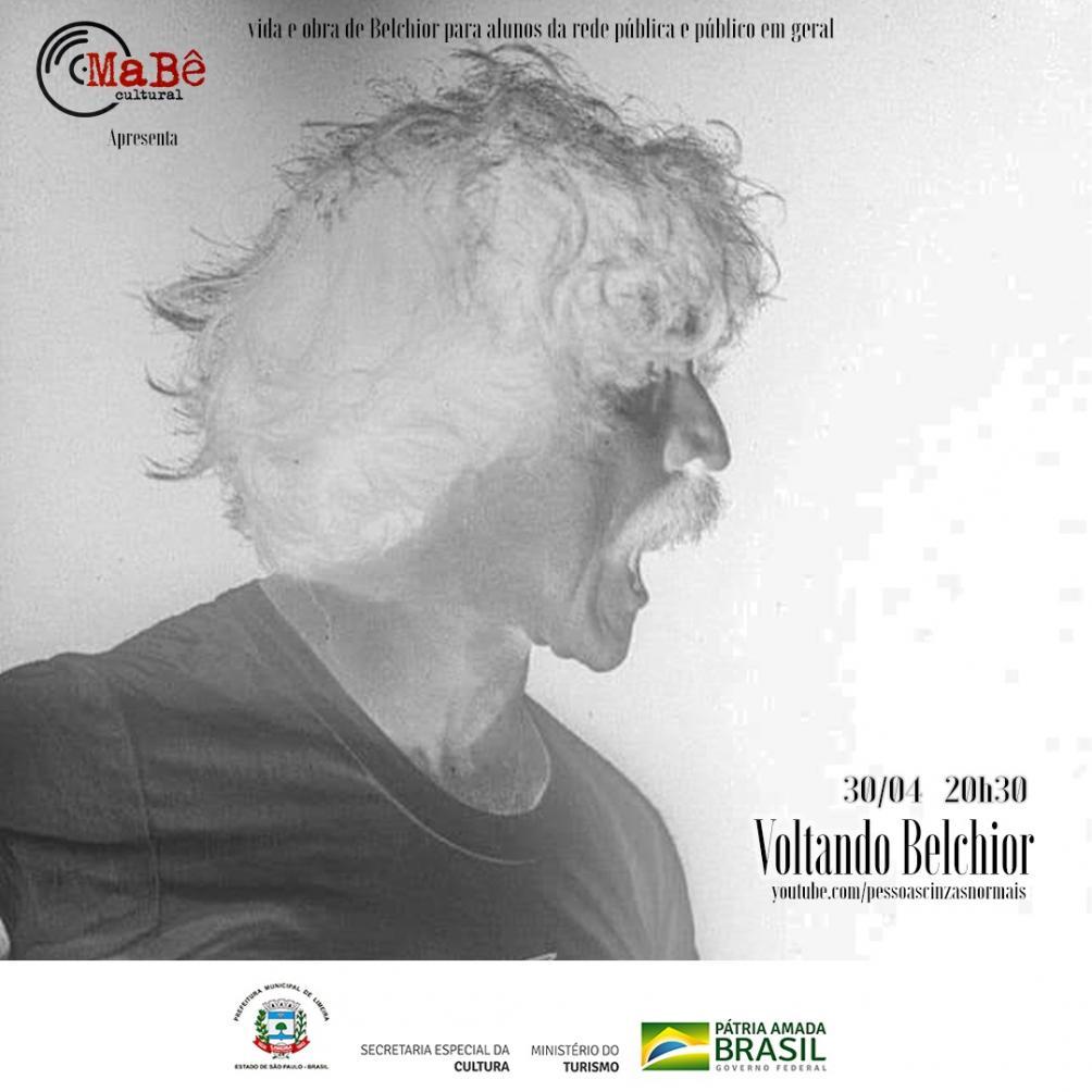 Banda Pessoas Cinzas Normais apresenta show virtual com canções de Belchior