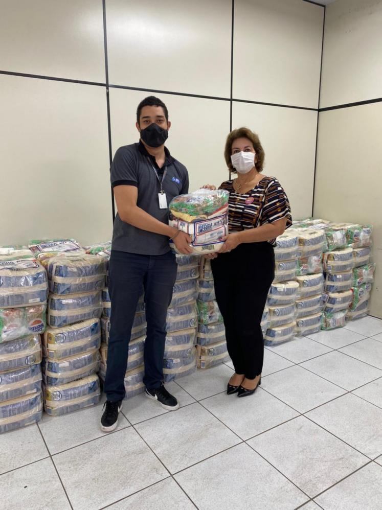 Limeira Solidária recebe doação de duas toneladas de alimentos da SPL Engenharia