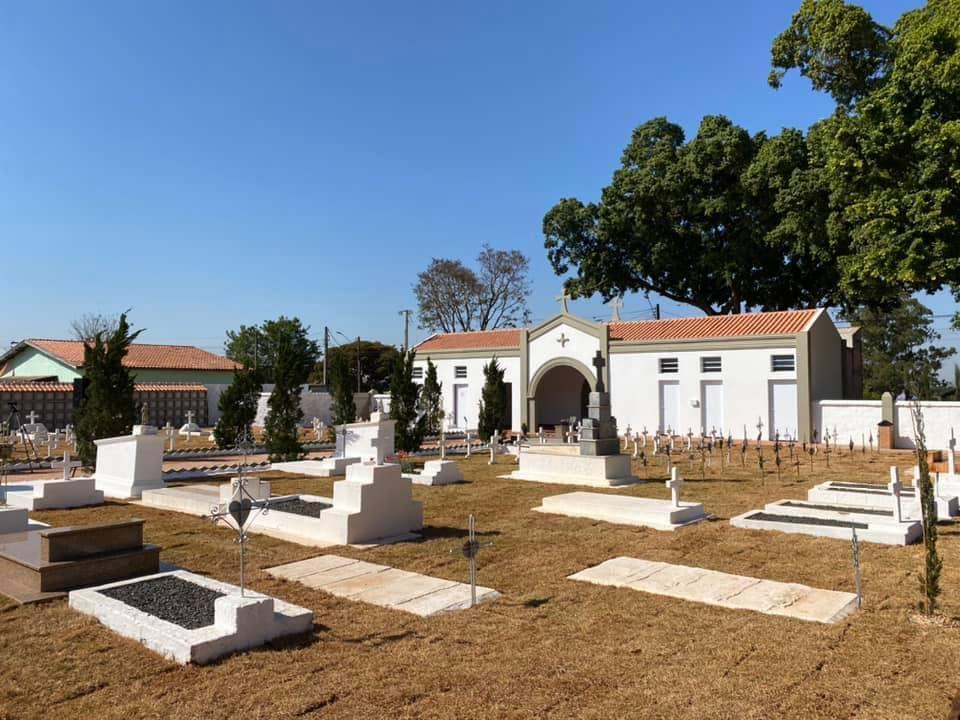 Cemitérios de Cordeirópolis abrem para visitas neste fim de semana