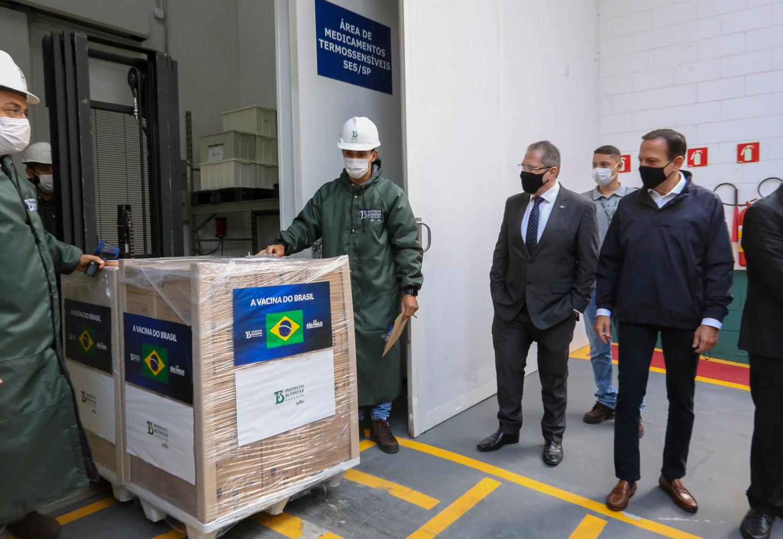 SP ultrapassa 43 milhões de doses da vacina do Butantan entregues ao Brasil