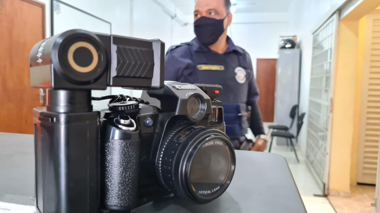 GCM de Limeira recupera máquina fotográfica furtada