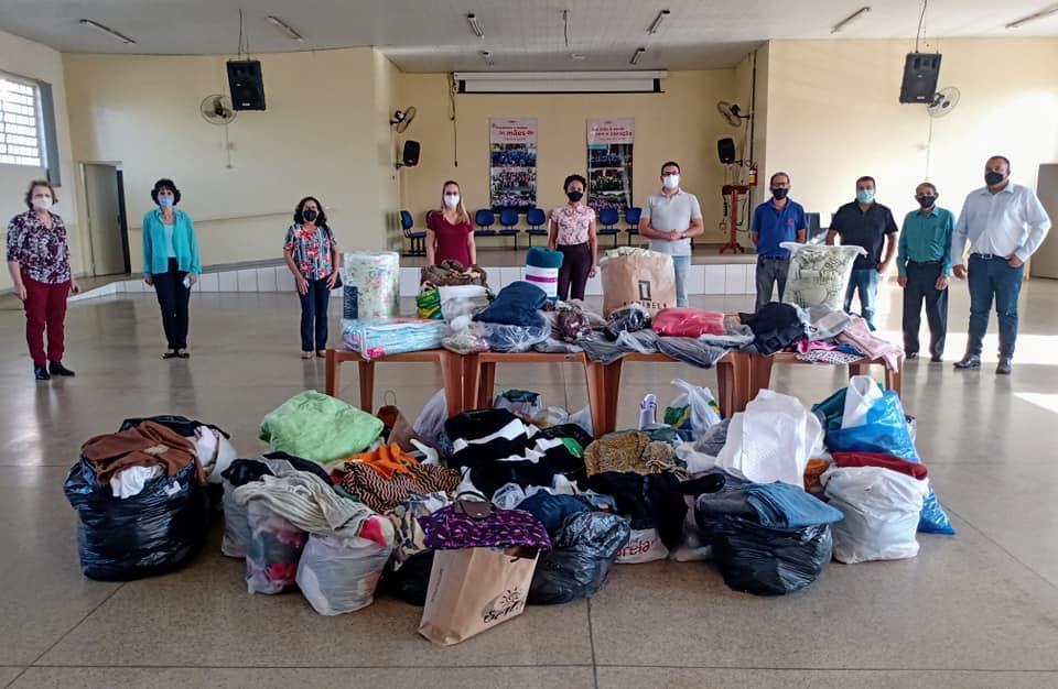 Igrejas evangélicas de Cordeirópolis recolhem doações para Campanha do Agasalho