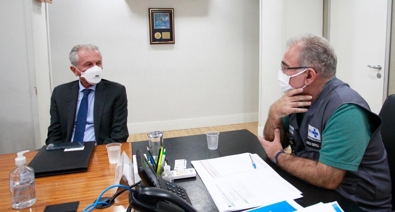 Prefeito de Limeira vai a Brasília buscar alternativas no enfrentamento à pandemia