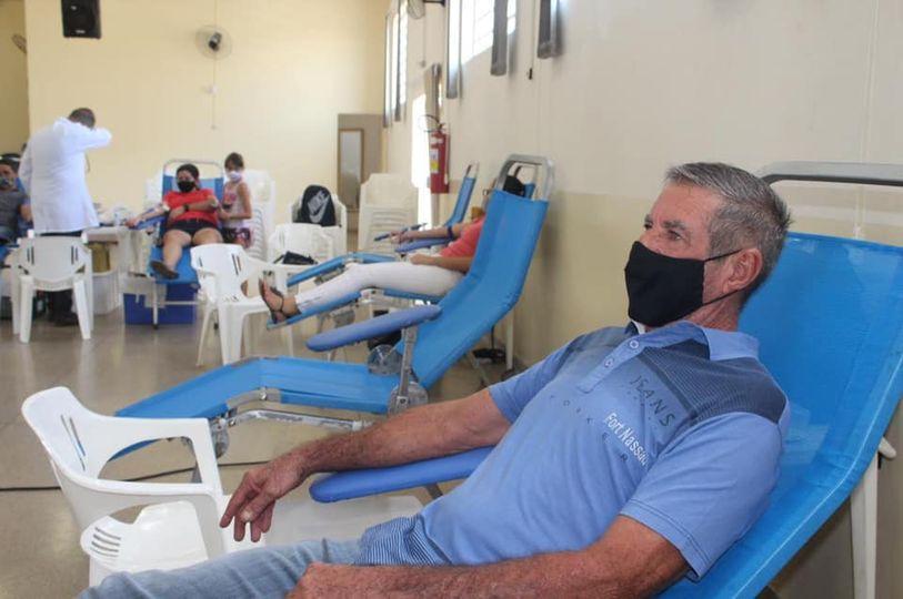 Arlindo Ozelo: 51 anos dedicados à doação de sangue em Cordeirópolis