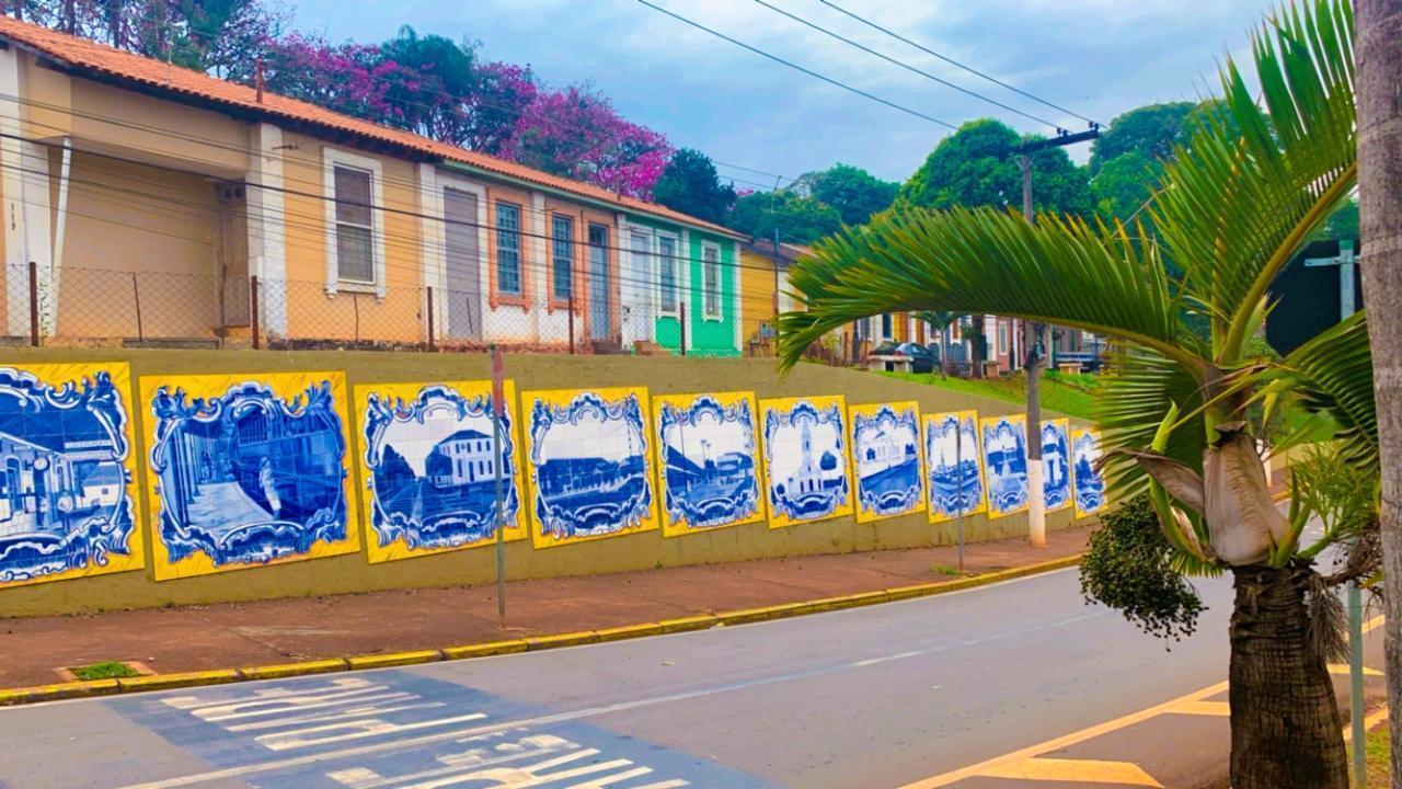 Mural Histórico da Avenida Vilson Diório em Cordeirópolis está concluído