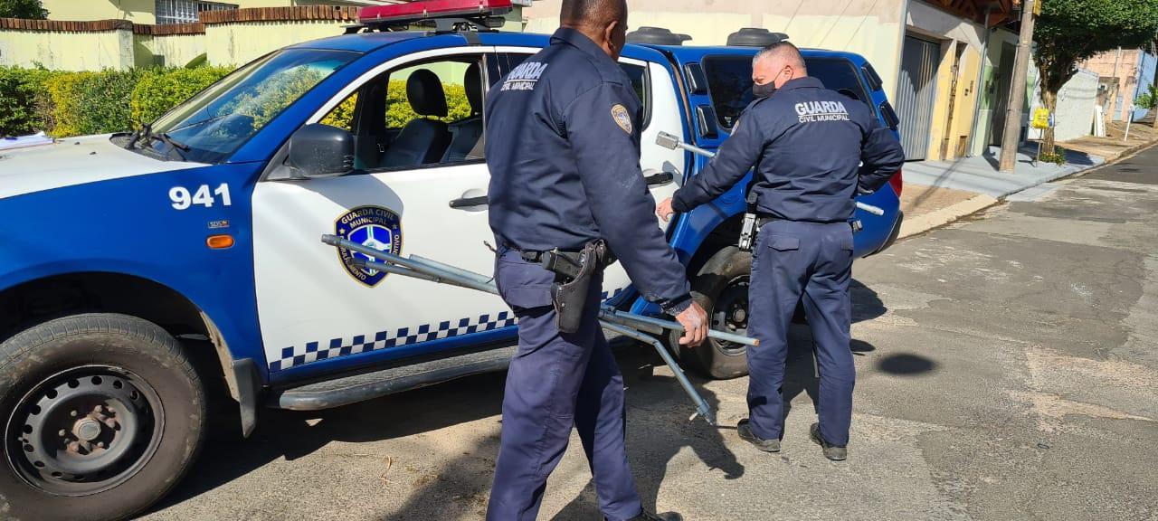 GCM detém acusado de furtar canos de alumínio