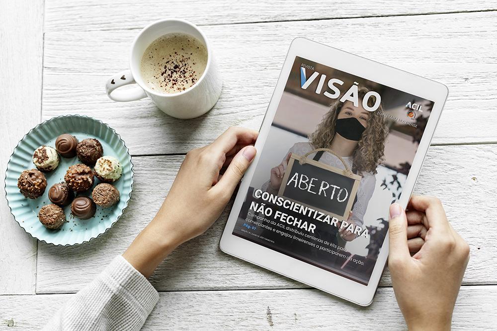 ACIL lança nova revista Visão Empresarial Limeirense
