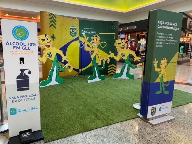 Parque D. Pedro Shopping lança ação interativa entre o público e o universo dos esportes