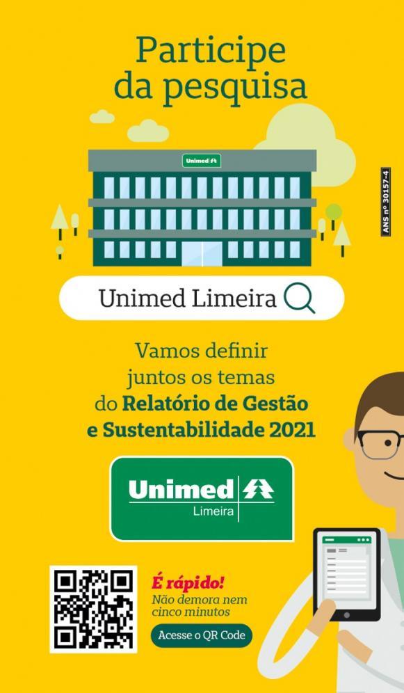 Unimed Limeira realiza pesquisa para relatório
