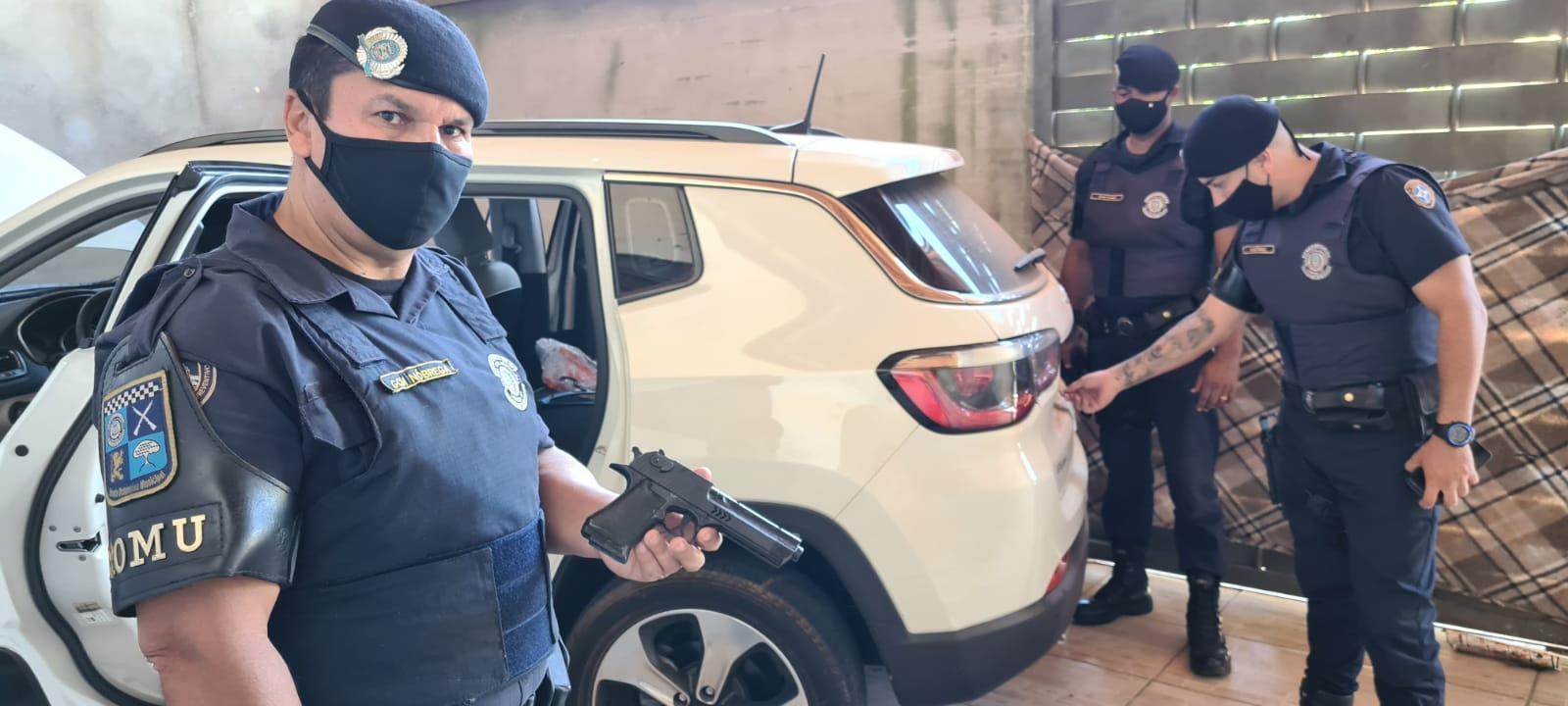 GCM de Limeira recupera veículo roubado
