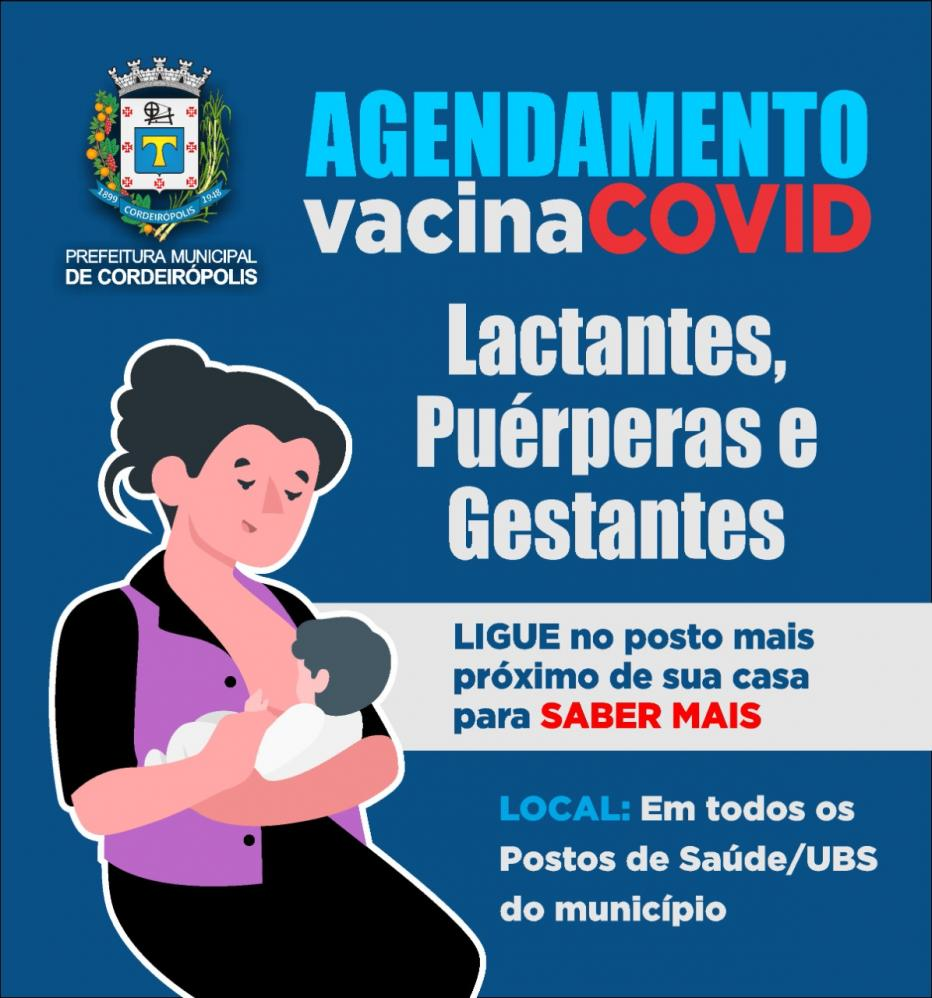 Atenção mamães e futuras mamães que ainda não se vacinaram contra a covid!
