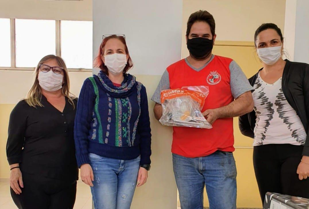 Doação de Máscara Facial Total para Cordeirópolis