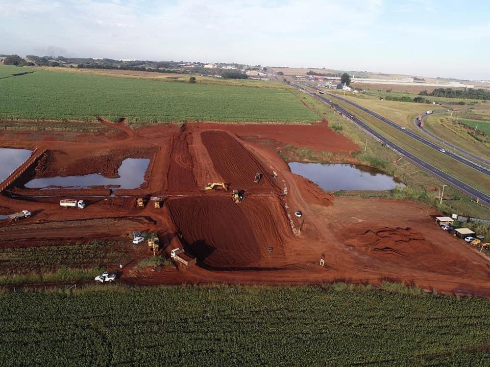 Obra da Represa Santa Marina em Cordeirópolis está 50% concluída