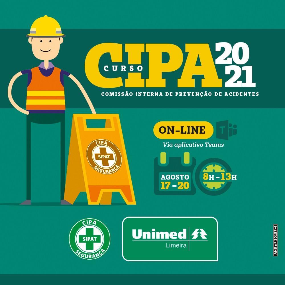 Inscrições abertas de curso obrigatório para CIPA